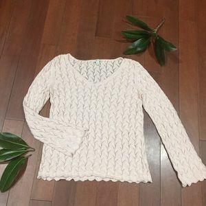 J.Jill Precious Pink Sweater